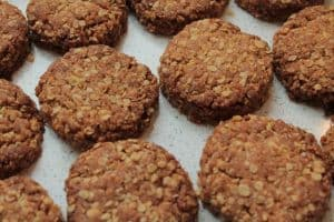flapjack cookies from sprouted flour