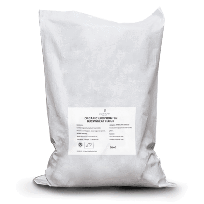 Organic Unsprouted Buckwheat Flour 10kg