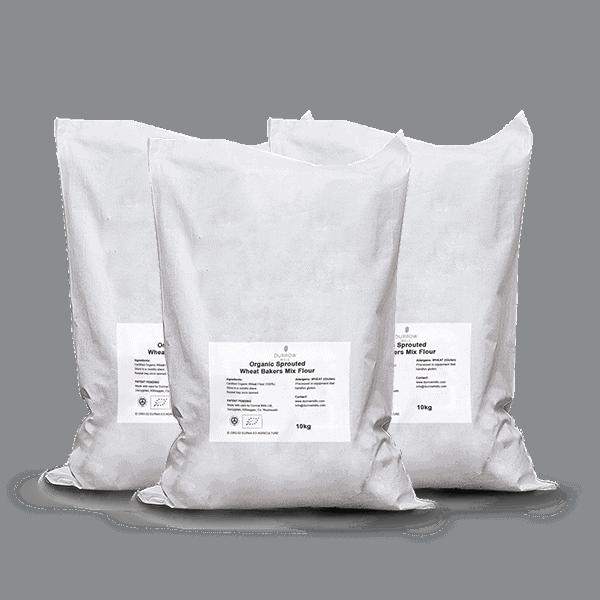 10kg Sprouted Flour Bundle including wheat flours rye flour