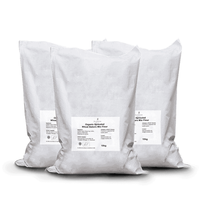 10kg Sprouted Flour Bundle including wheat flours, rye flour